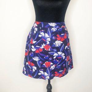 J. Crew red white blue skirt 10